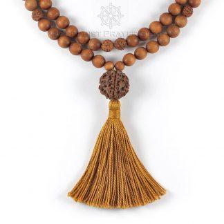 sandalwood mala beads